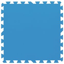 BESTWAY 58220 - RUG PAD UNDERLAY INDOOR CM.50X50 BLUE 8 PCS.