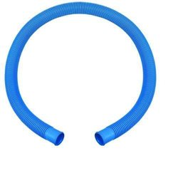 SUCTION TUBE CORRUGATED BLUE COLOR FOR SWIMMING POOL MM. 38 BY THE METRE, MINIMUM 1.5 M