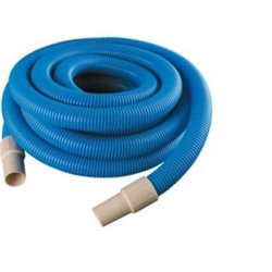 SUCTION TUBE CORRUGATED BLUE COLOR FOR SWIMMING POOL MM. 32 MT.12 AILANTO