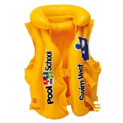INTEX 58660 - LIFE JACKET SWIMMING 3-6 YEARS