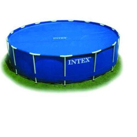 Intex 29022 telo termico copertura piscina tonda con telaio - Piscina intex tonda ...