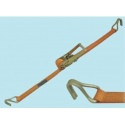 RATCHET HOOK TO HOOK LENGTH OF 4 MT. MAX 750 KG. LUGGAGE STRAP