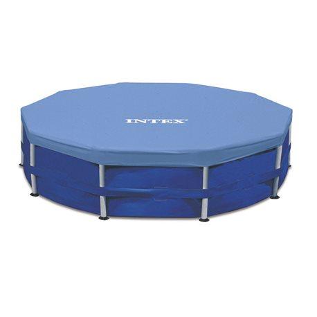 Intex 28030 telo di copertura per piscina tonda portante - Telo copertura piscina intex ...