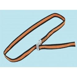 STRAP BUCKLE OF THE CLAMPING RING 4 MT. UP TO 500 KG. LUGGAGE