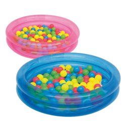 BESTWAY 51085 - INFLATABLE POOL 2 RINGS FOR CHILDREN TO DRINK Ø CM.91X H20 CM
