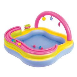 BESTWAY 52125 - INFLATABLE POOL PLAY CENTER CHILDREN WITH GAMES CM.159X159X89