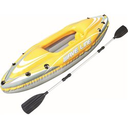 BESTWAY 65019B - KAYAK WAVE LINE INFLATABLE 1 PLACE CANOE