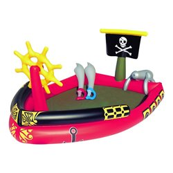 "BESTWAY 53041 - INFLATABLE SWIMMING POOL WITH GAMES IN THE ""PIRATE PLAY POOL"""