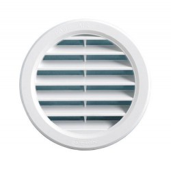 GRID VENTILATION HOLE 10 CM. AIR VENT ANTINSETTI WHITE PLASTIC