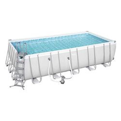 PISCINA BESTWAY 56470 RETTANGOLARE POWER STEEL CM.671x366x132H