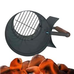 STARTER FIRELIGHTERS FOR CHARCOAL BARBECUE-READY IN 10 MINUTES!