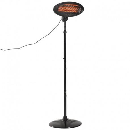 LAMP, QUARTZ HEATING EXTERNAL HEIGHT 160 CM TELESCOPIC