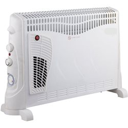 THE CONVECTOR TO THE FLOOR WITH THERMOSTAT MORE TIMER ULTRA EFFE 2000W