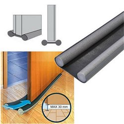 WEATHER STRIP DOOR SILL DOOR WEATHERSTRIP FOR DOORS SECURITY DOORS CM.95 ANTHRACITE