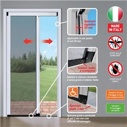 ROLLER insect screen TANKE SIDE OPENING CONCEALED GUIDE THIN 2mm.
