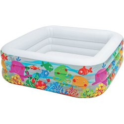 AQUARIUM POOL 57471 INTEX CM.159X159 H. CM.50
