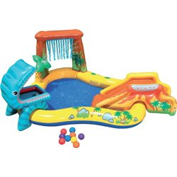 PLAYCENTER DINOSAUR 57444 INTEX CM.249X191 H. CM.109