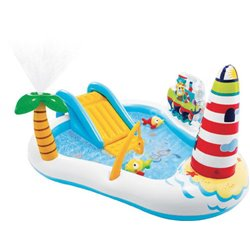 PLAYCENTER FISHING FUN 57162 INTEX CM.218X188 H. CM. 99