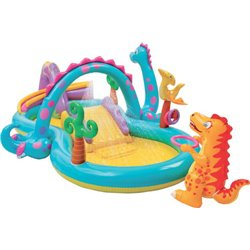 PLAYCENTER DINOLAND 57135 INTEX CM.333X229 H. CM.112