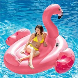 INFLATABLE MEGA FLAMINGO 56288 INTEX CM.218X211 H. CM136