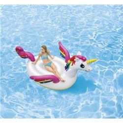 INFLATABLE MEGA UNICORN 57281 INTEX CM.287 X193 H. CM165