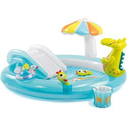 PLAYCENTER GATOR 57129 INTEX CM.203X173 H. CM. 89