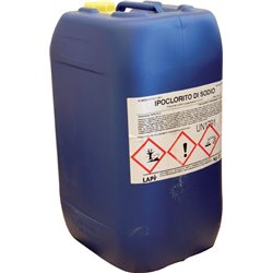 SODIUM HYPOCHLORITE FOR SWIMMING POOL LAPI LIQUID KG.25