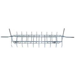 SPIT IN THE CAGE FOR THE ROTISSERIE STAINLESS STEEL 70 CM