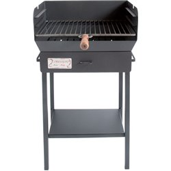 BARBECUE CHARCOAL/WOOD LIVORNO CRUCCOLINI CM 50X38 H. 90 CM