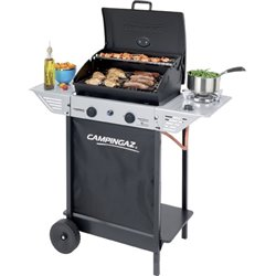 BARBECUE GAS XPERT 100 PLUS ROCKY CAMPINGAZ BURNERS 2CON1 CM 98X48 H. CM 124