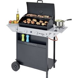 BARBECUE GAS XPERT 200 LS ROCKY CAMPINGAZ BURNERS 2CON1 CM 108X48 H. CM 124
