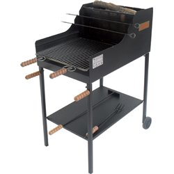 BARBECUE CHARCOAL/WOOD FUOCONE CRUCCOLINI CM 50X80 H. 110 CM