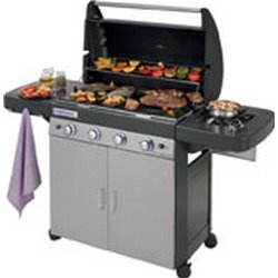 BBQ GAS 4 SERIES CLASSIC LS PLUS CAMPINGAZ BURNERS 4 CM 160X60 H. CM 115 WITH COVER BBQ