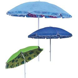 BEACH UMBRELLA TOP DOMUS ALUMINIUM/FIBRE/POLY MT.2