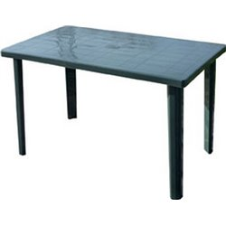 TABLE MARSHALL BICA PP GREEN CM 120X70 H. 72 CM