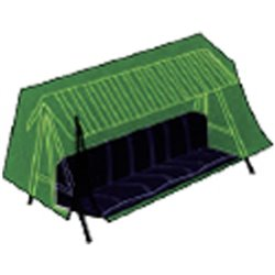 HEAVY COVER FOR ROCKING DOMUS GREEN PE CM 240X135 H. CM-200