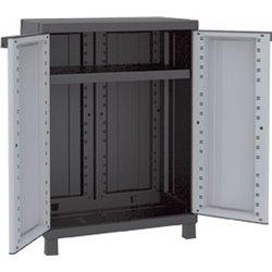 WARDROBE TUTTOPIANI TWIST BLACK TERRY PPL GRAY BLACK 2 DOORS CM 68X39 H. CM 91,5
