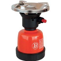 FORNELLO GAS A CARTUCCIA PIEZO COOK ACCIAIO VERNICIATO KW 2,2 GR/H 160