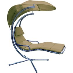 ROCKING HAMMOCK DOMUS CM. 130X172X H 203 STRUCTURE IN IRON WITH CUSHION