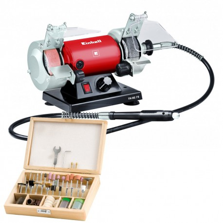 GRINDER GRINDING WHEEL BENCH EINHELL TH-XG 75 KIT 120 W MINIFRESE INCLUDED