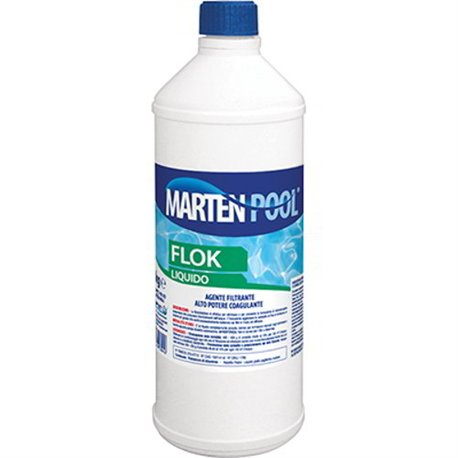 Flocculant For Swimming Pool Marten Fluid Lt 1