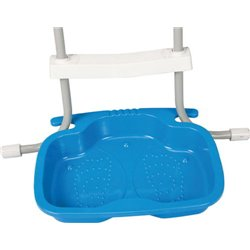 BASIN foot basin FOOT BATH 29080 INTEX CM 22X18 H. CM 9