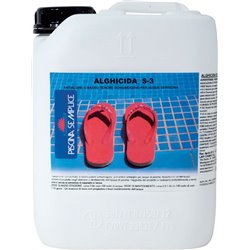 ANTI-ALGAE FOR SWIMMING POOL LAPI LIQUID LT 5