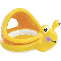Swimming POOL LAZY SNAIL SHADE BABY 57124 INTEX CM 145X102 H. CM 74
