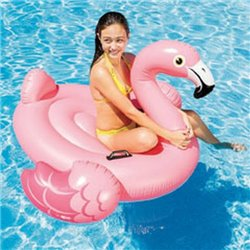 INFLATABLE FLAMINGO RIDE-ON-57558 INTEX CM 142X137 H. CM 97