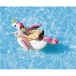INFLATABLE UNICORN RIDE ON 57561 INTEX CM 201X140 H. CM 97