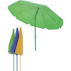 BEACH UMBRELLA SIMPLY DOMUS STAINLESS STEEL/TNT MT 1,8