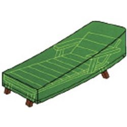 HEAVY COVER FOR BED DOMUS GREEN PE CM 200X76 H. CM 40/76
