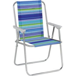 CHAIR TROPEA DOMUS stainless STEEL/POLY CM 53X47 H. 75 CM