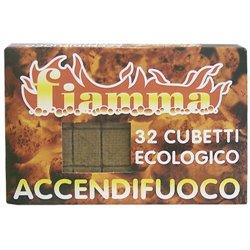 ACCENDIFUOCO ECOLOGICO 32 FIAMMA CUBETTI 32